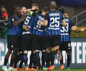 Inter regressa às vitórias. EFE