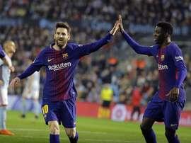 Barça, na rota dos títulos. EFE