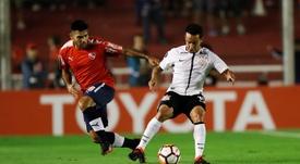 Jadson relembrou de Corinthians de 2017. EFE