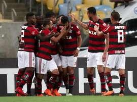Fla volta a entrar em campo pela Libertadores. EFE
