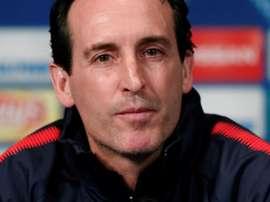 Unai Emery não comandará o PSG na próxima temporada. EFE/Archivo
