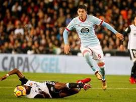 Valencia foi parado na Galiza. EFE