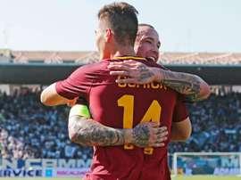 Roma venceu Spal e aumentou a vantagem para o Inter. EFE