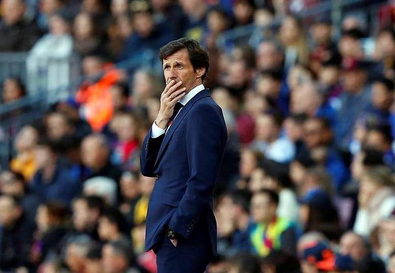 José Ángel Ziganda puso el punto final a las negociaciones con el Watford. EFE