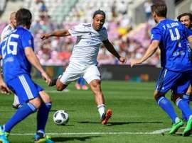 Ronaldinho fue uno de los estafados. AFP