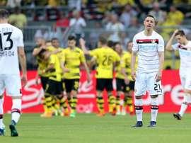 El Borussia Dortmund es tercero. EFE