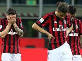 Varapalo impensable del Milan. EFE