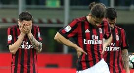 Le Milan AC puni par l'UEFA. EFE