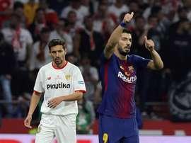 Barça e Sevilla vão disputar a Supertaça espanhola. EFE