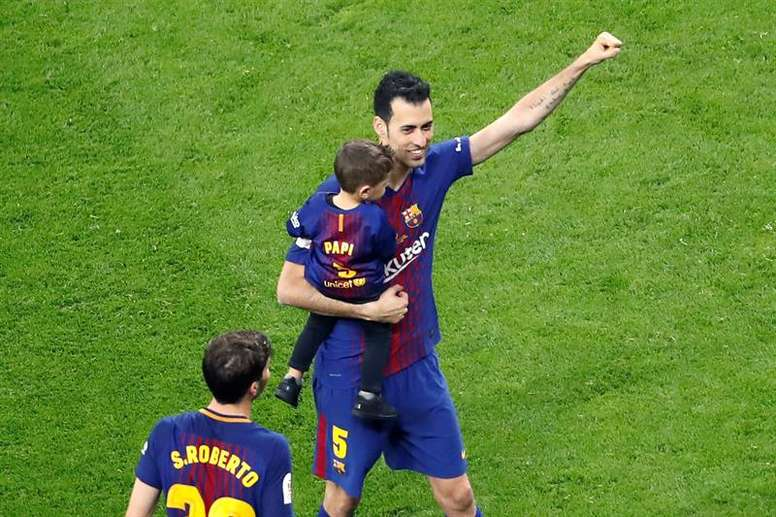 Busquets, from an unknown youngster to one of the world's best players. EFE