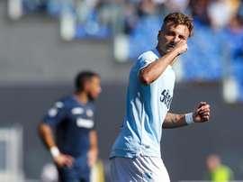 Immobile led Lazio. EFE