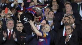 Le Barça a remporté la dernière édition. EFE