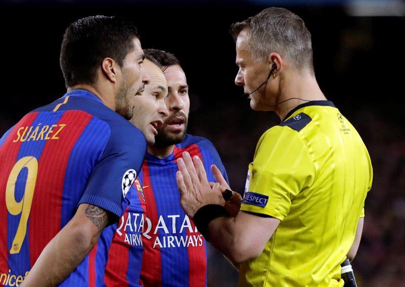 On connaît l'arbitre d'OM-Atlético — Ligue Europa