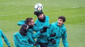 Castilla et Vallejo n'ont pas encore joué la moindre minute. EFE