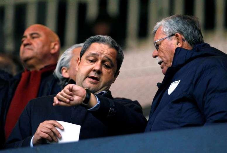 La Federación de Peñas pedirá al club que adelante las elecciones. EFE