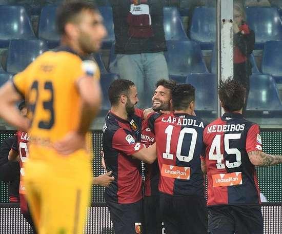 Daniel Bessa marcó su primer gol de la temporada. EFE
