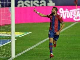 Morales liderará al Levante en el Bernabéu.