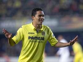 L'attaquant colombien s'est exprimé sur son futur. EFE