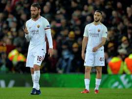Roma lost 5-2 at Anfield. EFE