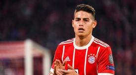 El futuro de James podría estar de nuevo en el Real Madrid. EFE
