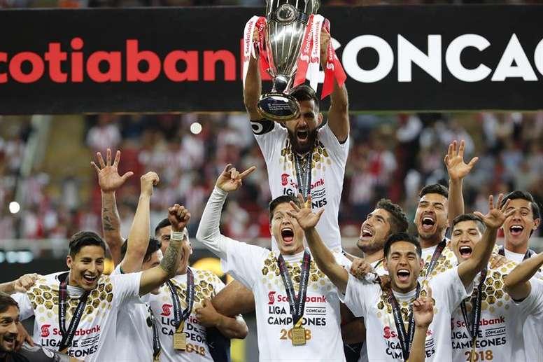 Chivas se proclamó campeón de la CONCACAF Champions League en 2018. EFE/Archivo