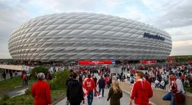 L'Allianz Arena pourrait de nouveau accueillir la finale de la Ligue des Champions. EFE