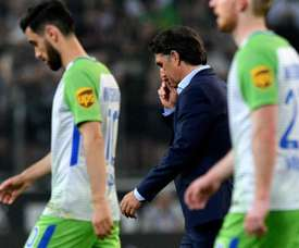 O Wolfsburgo vai de mal a pior.EFE