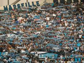 Triunfo del conjunto francés en la ida de las semifinales de la Europa League. EFE