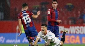 Sevilla vive péssimo momento na temporada. EFE