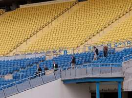El futbolista será presentado este martes en el Estadio de Gran Canaria. EFE
