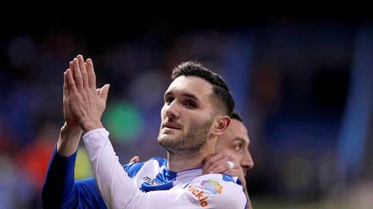 Lucas Perez joined West Ham from Arsenal in August. EFE