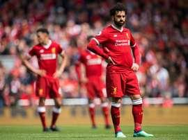 Liverpool empata em Anfield. AFP