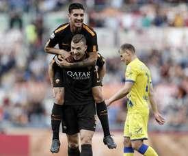 A Roma bateu o Torino por 1-0. EFE/EPA
