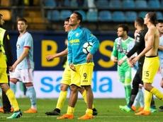 Bacca se cuela en la historia del Villarreal con su 'hat trick' al Celta. EFE
