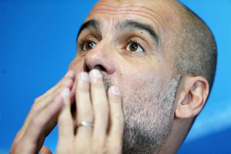 Guardiola no teme al favoritismo. EFE/Archivo