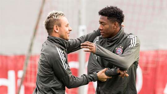 El Bayern de Múnich podría dejar libre a Rafinha. EFE/Archivo