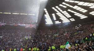 Un vainqueur de l'EuroMillions offre aux supports un club en Écosse. EFE/EPA