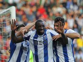 Marega is one of West Ham's targets. EFE/EPA