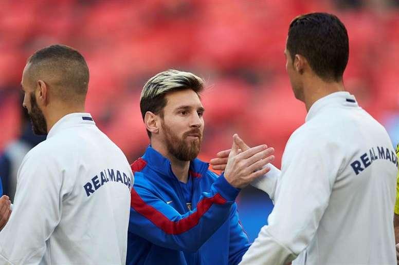 Messi anotó más goles que Cristiano en 2018. EFE/Archivo