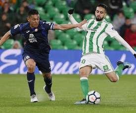 Boudebouz tiene contrato con el Betis hasta 2021. EFE