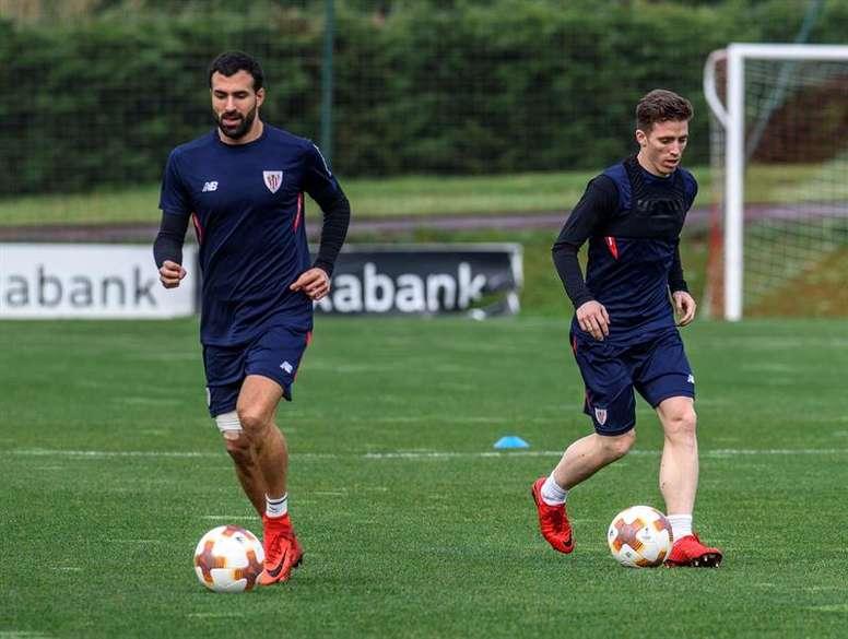 Pin El Athletic inició sus entrenamientos de pretemporada el lunes 9 de  julio. EFE Archivo ace30103c5e25