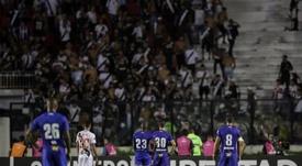 Vasco e Cruzeiro pela Libertadores. EFE