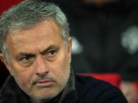 Mourinho has made nine changes. EFE/Archivo