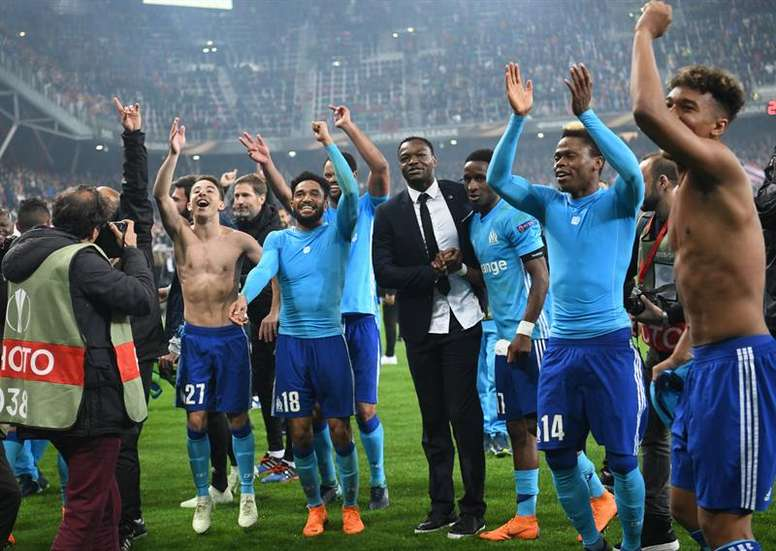 Marseille could become France's first Europa League champions. EFE
