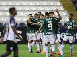 Palmeiras venció a Alianza Lima por 1-3. EFE
