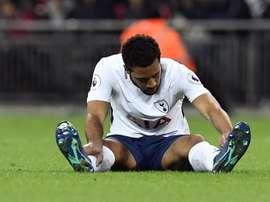 Mousa Dembélé podría abandonar el Tottenham. EFE/Archivo