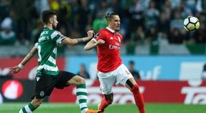 O Sporting venceu e conseguiu eliminar o benfica da Taça de Portugal. EFE