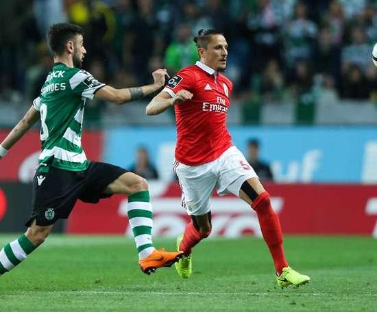 Bruno Fernandes could sign for Tottenham. EFE