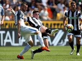 El Inter no tuvo piedad del Udinese. EFE