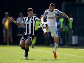 Le formazioni ufficiali di Udinese-Spezia. EFE